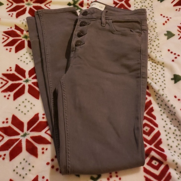 Abercrombie & Fitch Denim - Abercrombie and Fitch jeggings